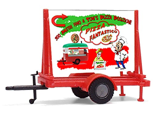 "Plakatwagen ""Tonis Pizza Stand"""