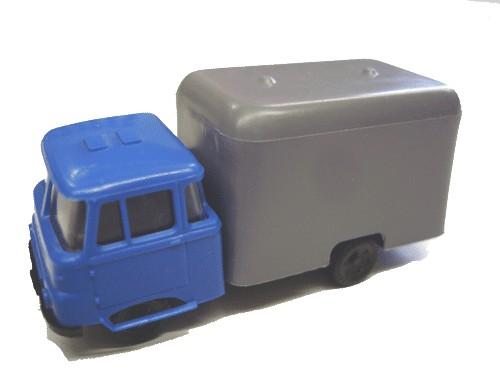 Robur LO 2501 mit Kofferaufbau