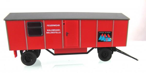 """Anhänger Typ A8 , 1 Fenster """"Waldbrand-Meldestelle"""""""