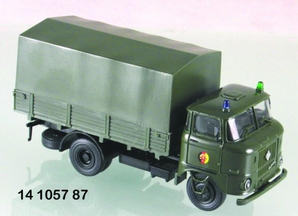 "LKW W50L ""NVA-Schlussfahrzeug Sondertransporte"""