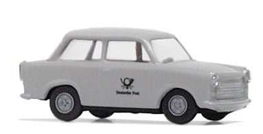 "Trabant ""Deutsche Post"", Grau"