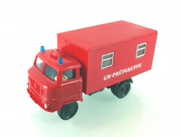 """TT: W50L Kofferaufbau der Feuerwehr """"Gerätewagen Prüfgruppe"""""""