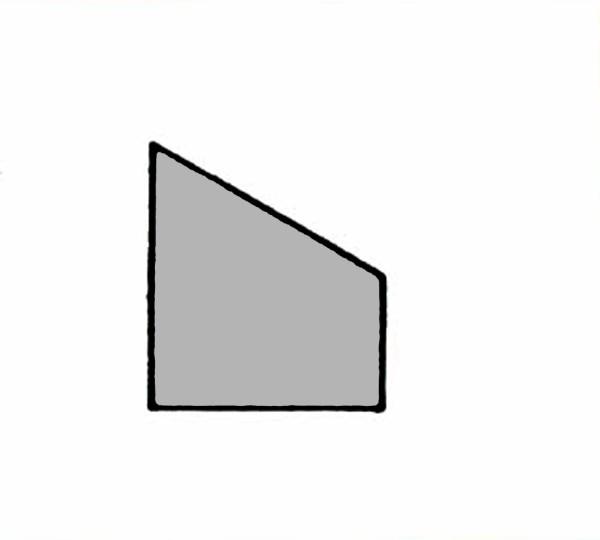SL200A Abdeckung / Leerbaustein grau