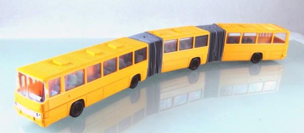 Ikarus 293 Doppel-Gelenkbus neutral maisgelb
