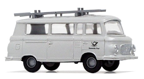 """Barkas B1000 Bus """"Post - Fernmeldebau"""" mit Leiter"""