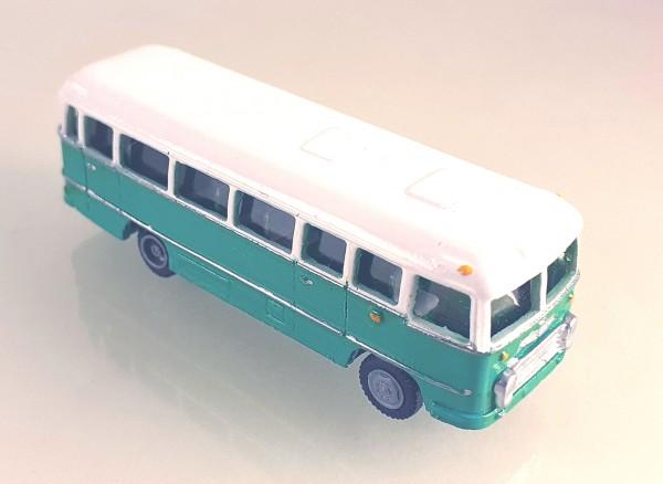 TT: FG000319 Omnibus Ikarus 31. Vorserie, Kleinserienmodell aus Resin in weiß / grün