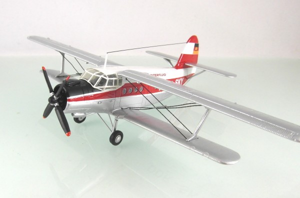 "HO/1:87: Resinmodell einer Antonov AN-2, Kleinserien-Fertigmodell in TOP Quali.""Interflug"""