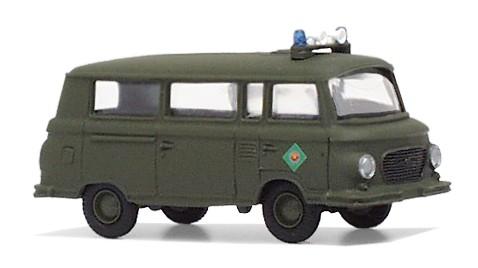 """Barkas B1000 Bus """"Bereitschaftspolizei"""" (kasern. Vopo)"""