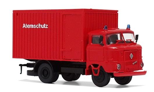 """LKW W50 """"Feuerwehr-Atemschutz"""" mit Kofferaufbau - Ursprungsversion"""