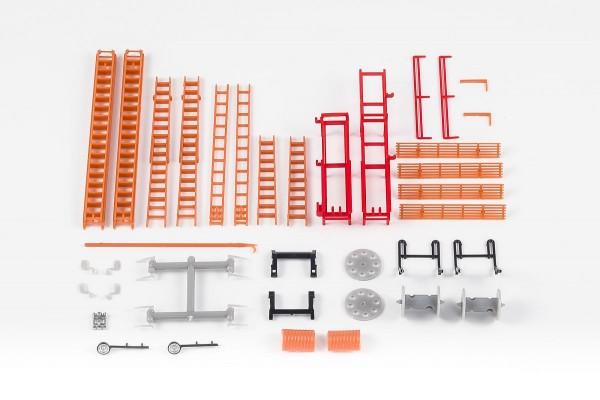 H0: Feuerwehr-Einzelteile Set