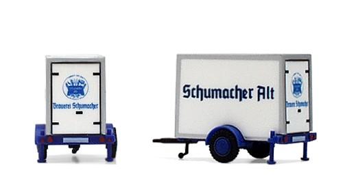 """Kühlkofferanhänger """"Schumacher Alt"""""""