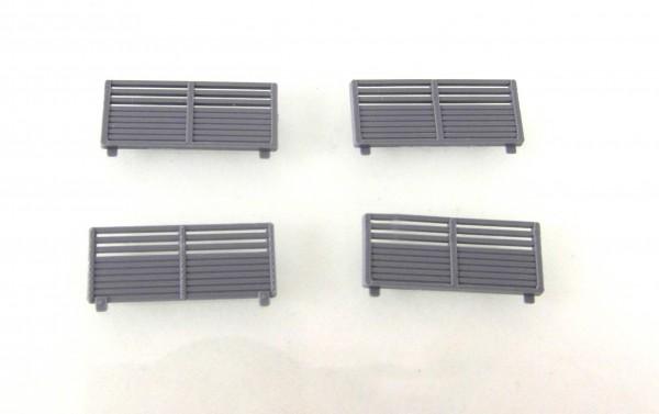 TT: Bordwanderhöhung für Lkw W50 und Anhänger E5 grau