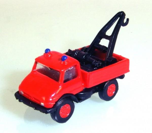 N: Unimog 406 Kranwagen der Feuerwehr