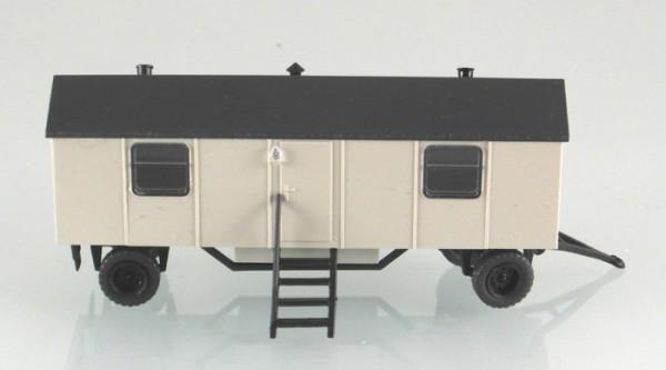 Bauwagen Typ A8 mit 2 Fenstern. Grau