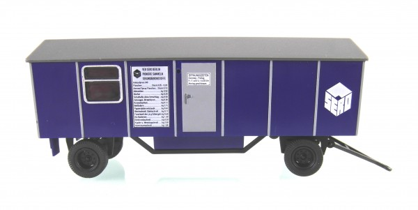 """Bauwagen Typ A8 """"Wertstoffsammelstelle-SERO"""""""