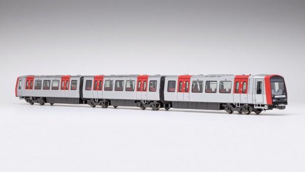 DT5 U-Bahn der Hamburger Hochbahn. Gleichstromausführung