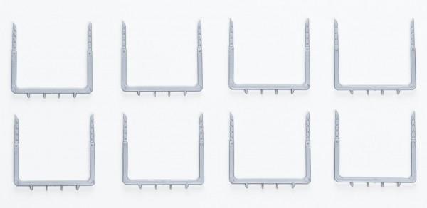 H0: 8 Stück filigrane Rungen (Rungenpaare) für Holztransporter