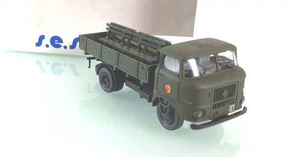 H0: FG000047 s.e.s W50L Pritsche / Bänke / NVA Fahrschulwagen