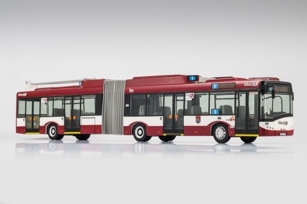 Solaris T18 Trollino. Trolleybus der Salzburger Lokalbahn SLB
