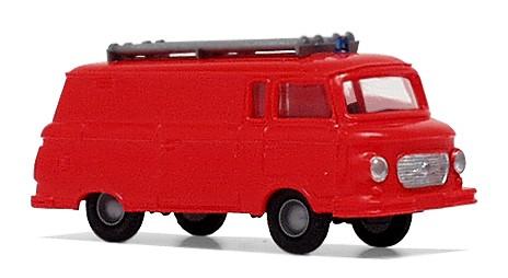 "Barkas B1000 Bus ""Kleinlöschfahrzeug"", Tagesleuchtrot"