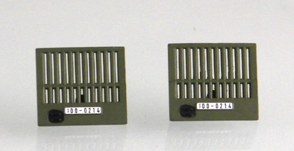 Kühlergrill für W50 LA/A. NVA/ NV - Militärgrill ohne Raute