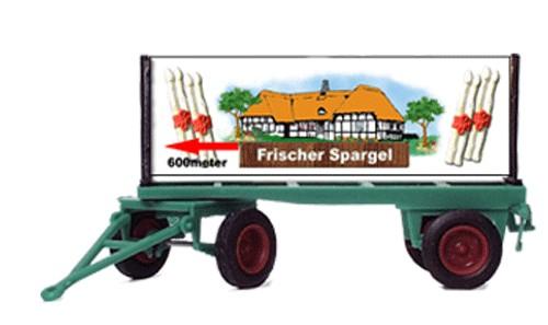 """Plakatwagen """"Spargel"""""""