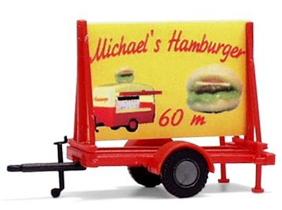"Plakatwagen ""Hamburger"""