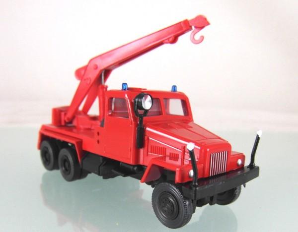 LKW IFA G5 Kranwagen Feuerwehr der der DDR