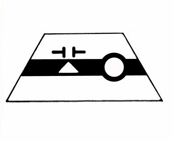 S506A Gleissymbol Entkupplungsgleis