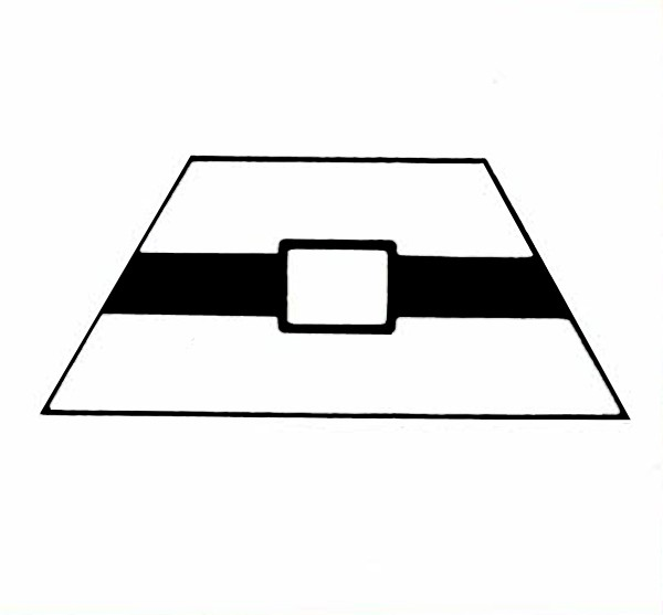 S508A Gleissymbol mit Beschriftungsfeld