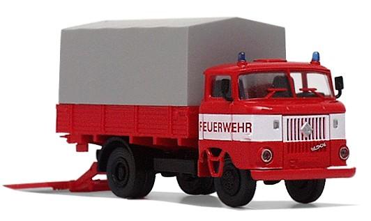 """LKW W50L """"LB Feuerwehr"""" mit Ladebordwand/ Bauchbinde"""