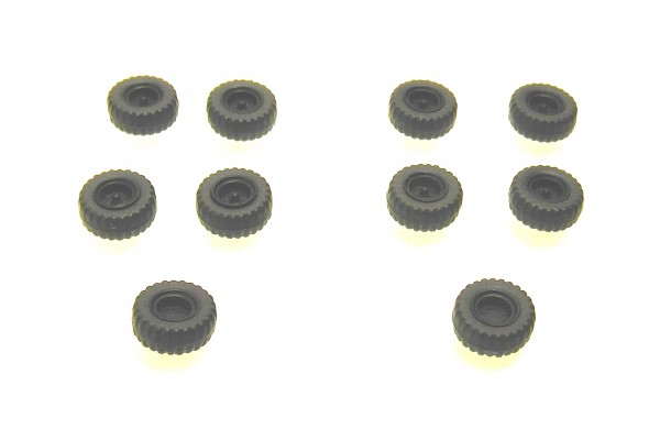 TT: Niederdruckräder/ Ballonräder groß z.B. für Anhänger HW80, Felgen schwarz