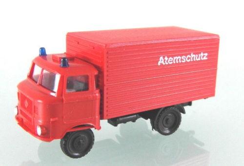 LKW W50L mit Kofferaufbau Feuerwehr Atemschutz