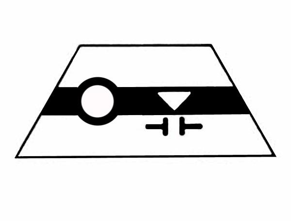 S507A Gleissymbol Entkupplungsgleis