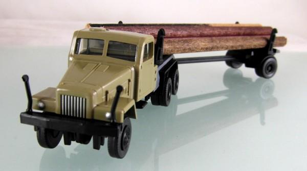 IFA G5 Langholztransporter sandbeige
