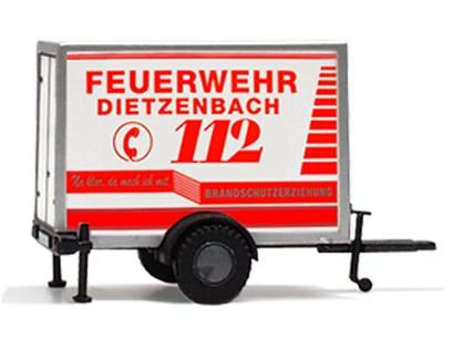 "Kofferanhänger ""Feuerwehr Dietzenbach-Brandschutzerziehung"""