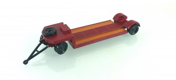 TT: 24200058 Tieflade- Schwerlastanhänger TL12 in braun. Kleinserienmodell