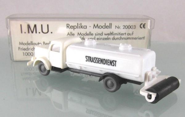Mercedes Straßenwalze / Straßendienst