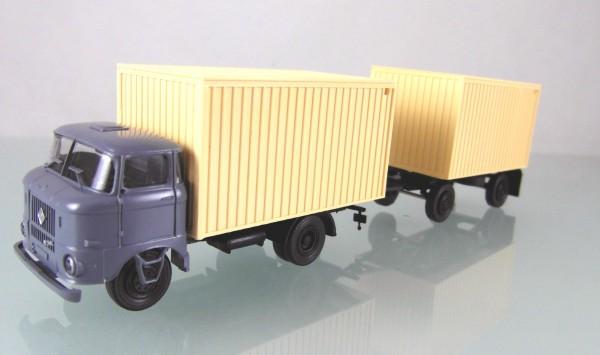 LKW W50L Kofferzug neutral grau/beige