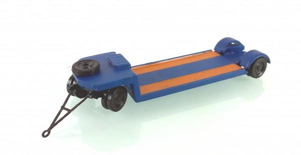 TT: 24200055 Tieflade- Schwerlastanhänger TL12 in blau. Kleinserienmodell