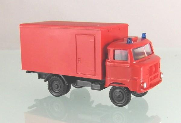 """LKW W50 """" LB Feuerwehr"""" mit Glattwandkoffer - Ursprungsausführung-g"""