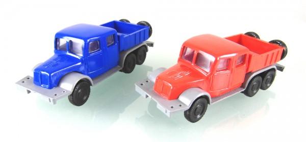 2 Stück Tatra T141 Zugmaschine blau/grau und rot/grau -LOW PRICE-