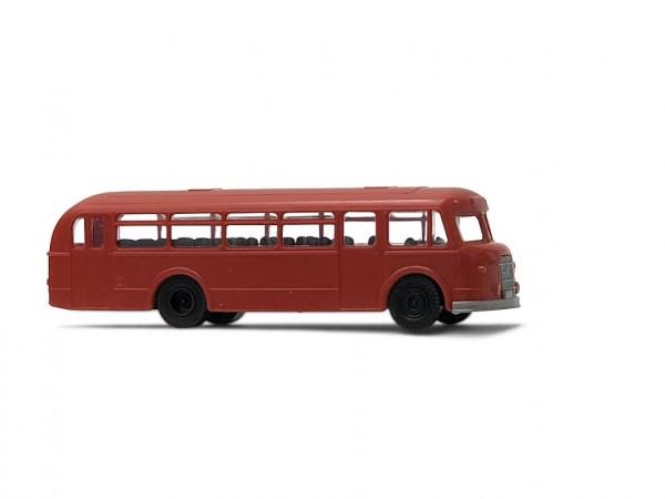 H0: IFA H6B Bus neutral dunkelrot (Bausatz)