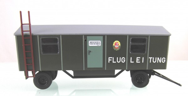 """Anhänger Typ A8 """"GST Flugleitung"""" Top Bedruckung"""