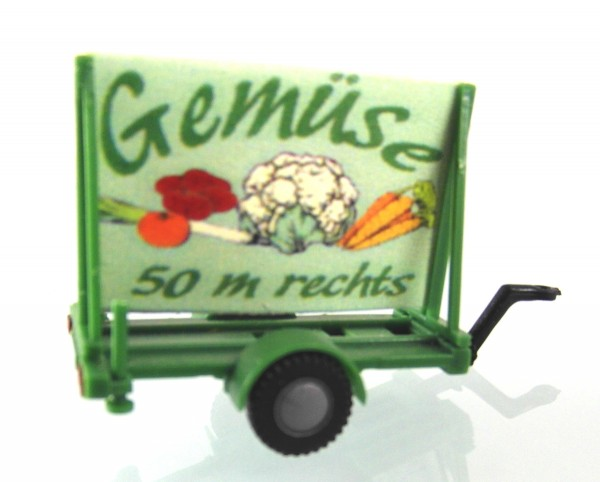 "Plakatwagen ""Gemüse"""