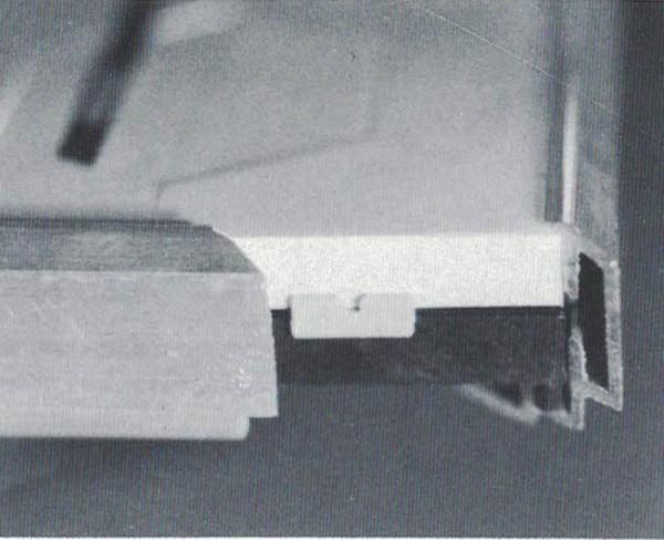 P100 Rahmenprofil 100 cm für s.e.s Gleisbildstellpulte