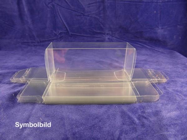 TT / H0 Transparente Verpackung 96x30x40mm, (Klarfaltbox) 10 Stück.