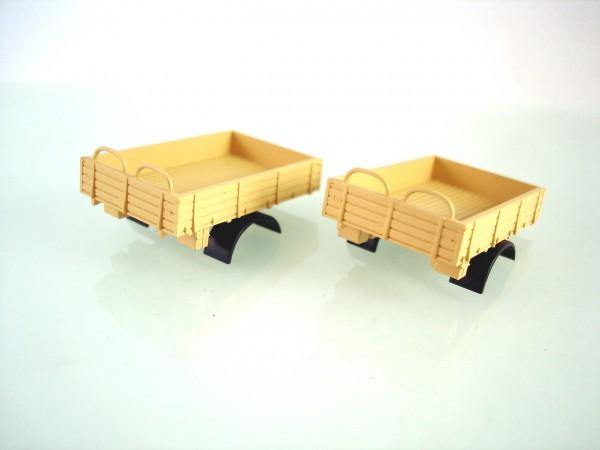 H0: 2 Stück Pritsche für W50 LA/A. sandbeige