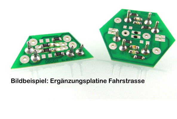 RW525 Ergänzungsplatine Fahrstrasse-Copy