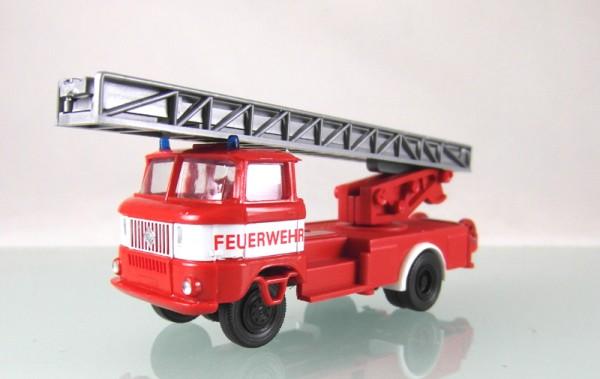 """LKW W50 Drehleiter der Feuerwehr mit Bauchbinde """"LOW PRICE"""""""